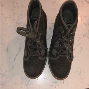 Merona Hiking Boots, brown suede, 7.5